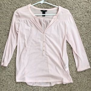H&M Baby Pink Top
